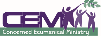 Logo for Concerned Ecumenical Ministry