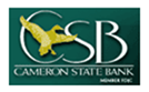 Logo for Cameron State Bank